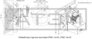 Общий вид горелок РМГ-1м-01, РМГ-2м-01