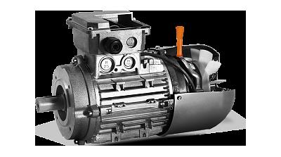 Электродвигатели со встроенным электромагнитным тормозом типа АИР...Е(Е2)