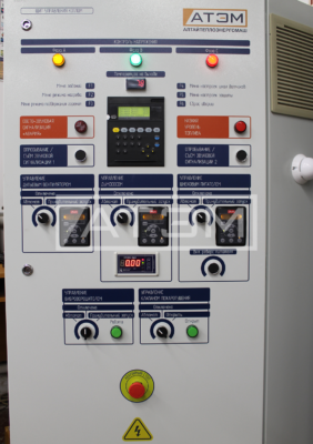 Шкаф управления автоматизированным котлом КВм-0,2Д