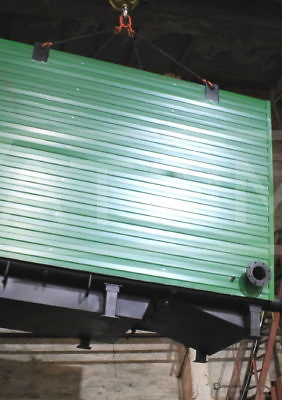 Котел водогрейный на дровах 2 МВт КВр-2,0Д
