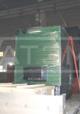 Отгрузка механизированного котла на опилках и щепе, бункера топлива, щита управления и вспомогательного оборудования