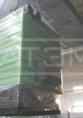 Отгрузка механизированного котла на опилках и щепе 300 КВт КВм-0,3Д