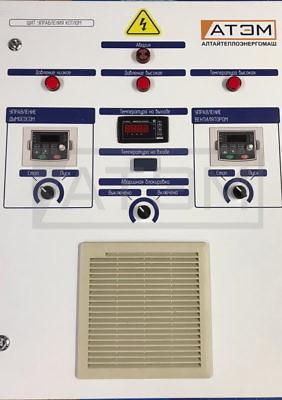 Щит управления котлом КВр-2,0Д с частотным регулированием
