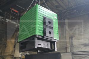 Отгрузка водогрейных котлов на дровах 250 кВт КВр-0,25 Д