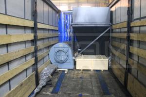 Отгрузка комплектующих котла на пеллетах 800 кВт КВм-0,8