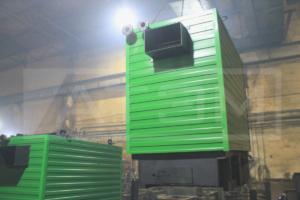 Отгрузка механизированного котла на пеллетах 800 кВт КВм-0,8