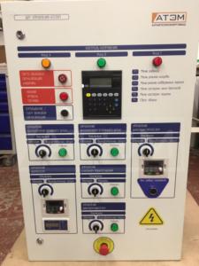 Щит управления механизированного котла на пеллетах 800 кВт КВм-0,8